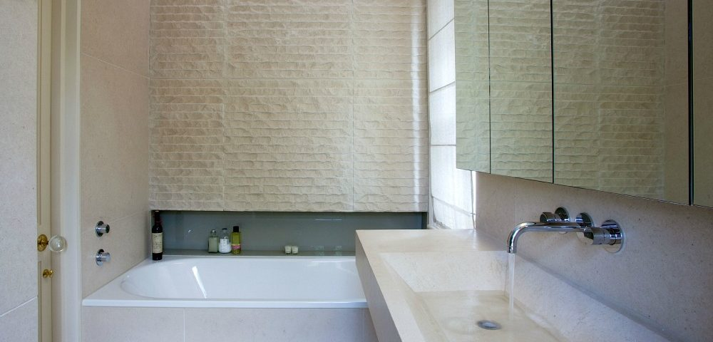 Limestone-bathroom polished clean color